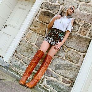 FRYE RARE Black Label Vintage Tall Over Knee Boots